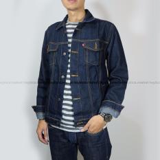 Heyloca Jaket Jeans Pria Blueblack Heyloca Murah Di Jawa Barat