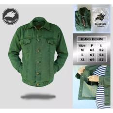 Jaket Jeans Pria Original Brand Octha Army