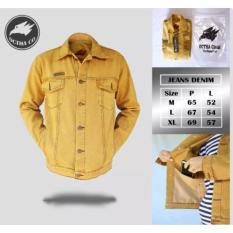 Jaket Jeans Pria Original Brand Octha Kuning