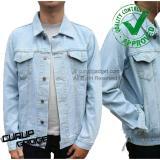Toko Jaket Jeans Reguler Biru Muda Pudar Yang Bisa Kredit