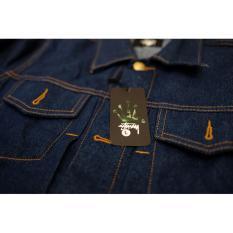 Jaket Jeans Stussy Kualitas Premium Grade AAA+++