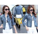 Jual Jaket Jeans Wanita Jaket Denim Jaket Terbaru Jaket Murah Best Seller On Fashion Murah