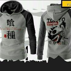 Jaket Jumper Hoodie Tokyo Ghoul Grey Best Seller Jawa Barat