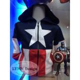 Spesifikasi Lynn Design Jaket Kostum Anak Laki Laki Captain America Yg Baik