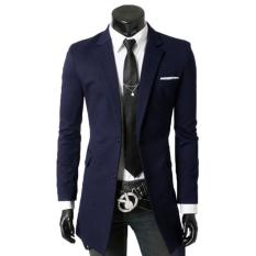 Jaket Kulit - Coat Pria Exclusive Suit - Navy