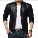 Jual Jaket Kulit Leather Jacket Black Ori