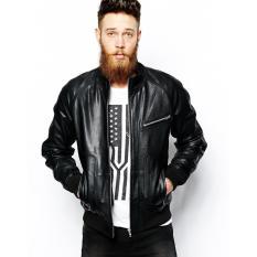 Toko Jaket Kulit Pria Fit Rider Jacket Kulit Asli Terlengkap