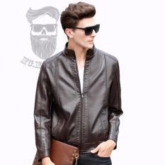 Beli Jaket Kulit Pria Premium Style Brown Jaket Kulit Asli Jaket Kulit Premium Jaket Kulit Best Quality Mc Marllo
