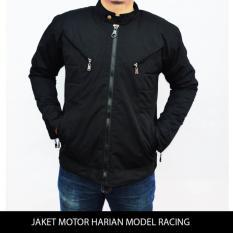 Obral Jaket Motor Harian Model Racing Tahan Angin Anti Air Bara Jaket Touring Pria Jaket Casual Pria Cowok Murah