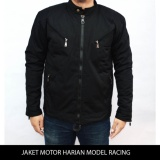 Jaket Motor Harian Model Racing Tahan Angin Anti Air Bara M Xxl Asli
