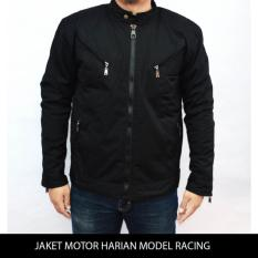 Spesifikasi Jaket Motor Harian Model Racing Tahan Angin Anti Air Bara M Xxl Online