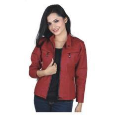 jaket motor wanita /jaket sintetis cewek/jaket kulit/ jaket semi kulit/grosir jaket bandung