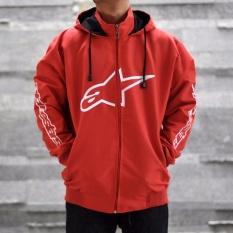 Jaket Murah Pria  Alpinestar - Merah Putih Best Seller