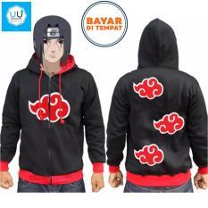 Diskon Jaket Naruto Awan Merah Naruto Anime Ninja Akatsuki Best Seller Black Oem Di Jawa Barat