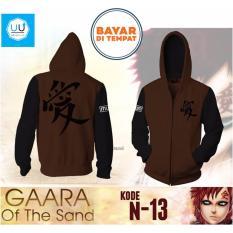 Harga Jaket Naruto Garaa Of The Sand Brown Black Seken