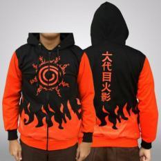 Spesifikasi Jaket Naruto Kyuubi Seal Hoodie Terbaik