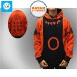 Jaket Naruto Rikudo Sennin Mode Jaket Ninja Naruto Kakashi Sasuke Sakura Best Seller Ii Orange Black Jawa Barat Diskon