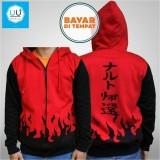 Pusat Jual Beli Jaket Naruto Yondaime Hokage Jaket Ninja Naruto Kakashi Sasuke Sakura Best Seller Red Black Jawa Barat