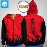 Beli Jaket Naruto Yondaime Hokage Jaket Ninja Naruto Kakashi Sasuke Sakura Best Seller Red Black Jmm Asli