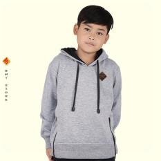 Jaket Panjang Anak Laki-Laki Umur 6 - 12 Tahun CSE 169-440 Abu Abu