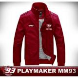 Spesifikasi Jaket Paraasut Waterproof Playmaker Marc Marquez