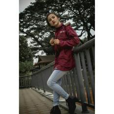 Spesifikasi Jaket Parasuts Wanita Original Rebel Id Maroon Lengkap