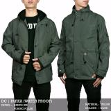 Spesifikasi Jaket Parka 100 Anti Air Green Army Paling Bagus
