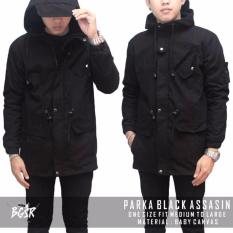 Harga Jaket Parka Assasin Ijo Army Cream Black Best Seller New