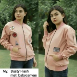 Spek Jaket Parka Dusty Flash