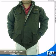 Toko Jaket Parka Jumbo Big Size Xxxl 3 Lapis Green Army Dekat Sini