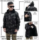 Spesifikasi Jaket Parka Loreng Pocket Army Yang Bagus Dan Murah
