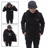 Spesifikasi Jaket Parka Pria Full Black Best Seller Blues Clothing