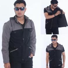Jaket parka terbaru bisa di pake rompi one jaket two model