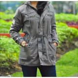 Tips Beli Jaket Parka Woman Babycanvas Premium Grey