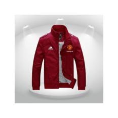 Jaket Playmaker Mu red casual