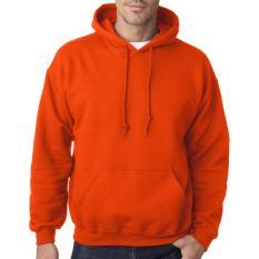 Harga Jaket Polos Hoodie Jumper Orange Tidak Ada Merk Ori