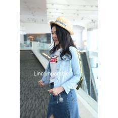 Ulasan Jaket Prada Aurora Jeans Off White List Wanita Jacket Import Bangkok