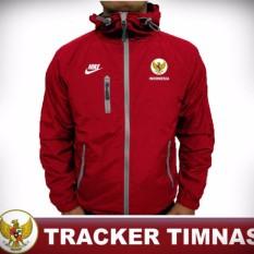 Beli Jaket Pria Bola Timnas Indonesia Merah Seken