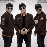 Review Jaket Pria Bomber Premium Xua Dark Brown Bgsr