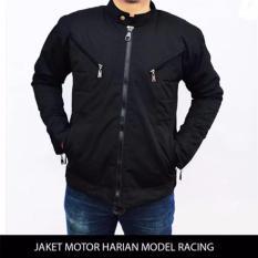 Harga Termurah Jaket Pria Jaket Motor Harian Model Racing Tahan Angin Anti Air