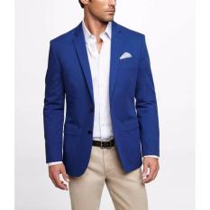 Jaket Pria - Jas Pria Resmi Kantoran Warna Biru