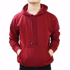 Spesifikasi Jaket Pria Murah Jumper Hoodie Kasual Maroon Best Seller Online