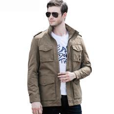 Beli Jaket Pria New Fashion Parka Color Warm Yang Bagus