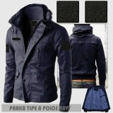 Jual Jaket Pria Parka Exclusive Best Seller Branded Original