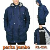 Spesifikasi Jaket Pria Parka Jumbo Navy Jaket Pria