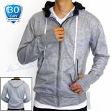 Jual Axxo Jaket Pria Sweater Hoodie Zipper Polos Jaket Sweater Pria Ax004 Abu Muda Lengkap