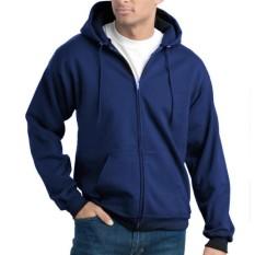 Jaket Pria Sweater Polos Hoodie Zipper Sleting Best Seller By Raja Clothing.