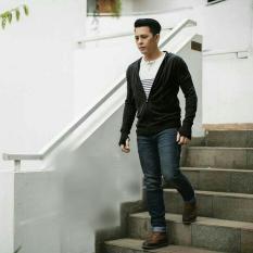 Jaket Rajut Ariel Hitam - Jaket Rajut Greenlight - Ad7a3a