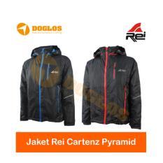 Jaket Rei Cartenz Pyramid Polar gunung hiking Travelling outdoor motor