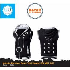 Harga Jaket Rompi Anime Naruto Rikudou Black Vest Hoodie Va Nrt 07 Black Lengkap